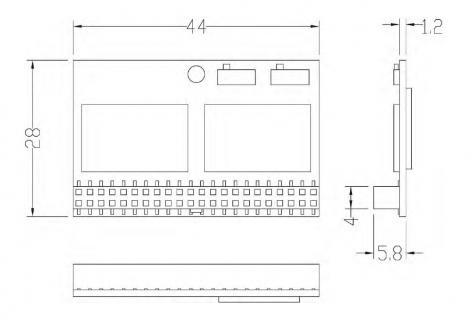 DOM PATA/CIE-4LS130TCT128MW  3