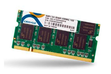 SO-DIMM DDR 1GB/CIR-S1SUPE4001G