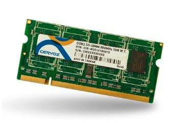 SO-DIMM DDR2 1GB/CIR-W2SUIG6601G