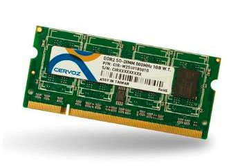 SO-DIMM DDR2 1GB/CIR-W2SUMG6601G