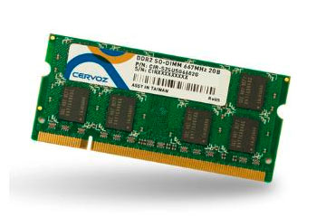 SO-DIMM DDR2 1GB/CIR-S2SUMG8001G