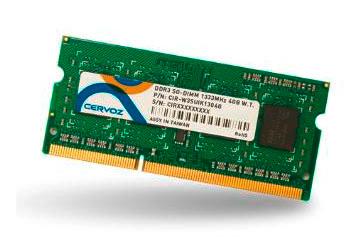 SO-DIMM DDR3L 2GB/CIR-W3SUSOS1602G