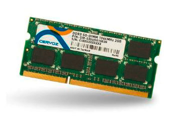 SO-DIMM DDR3 2GB/CIR-S3SUSI1602G