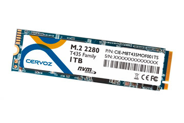 SSD NVMe M.2 2280/CIE-M8T435MOF001TW