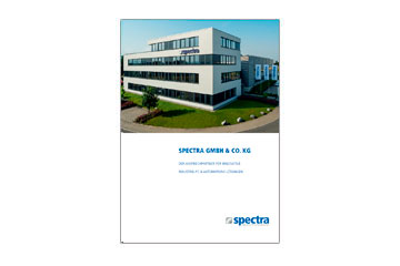 Broschüre Spectra Image