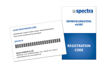 Spectra PowerBox 100 IVC Registrierungscode